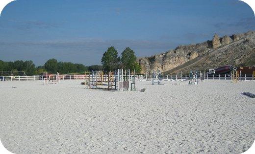 suelos para pistas de equitación