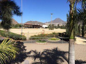 Centro Hípico del Sur Arona (Tenerife), Tres pistas ecuestres de 5.400 m2, 2.800 m2 y 1.200 m2, total 9.400 m2.